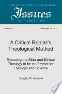 A Critical Realist S Theological Method