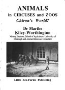 Animals in Circuses and Zoos