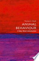 Animal Behaviour  A Very Short Introduction Book