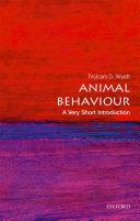 Animal Behaviour  A Very Short Introduction