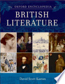 """The Oxford Encyclopedia of British Literature"" by David Scott Kastan, Oxford University Press"
