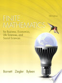 Finite Mathematics for Business, Economics, Life Sciences, and Social Sciences