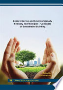 Energy Saving and Environmentally Friendly Technologies   Concepts of Sustainable Building Book