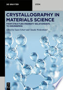 Crystallography in Materials Science