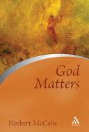 Pdf God Matters
