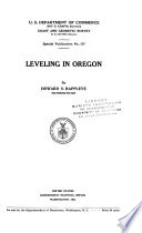 Leveling in Oregon