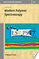 Modern Polymer Spectroscopy