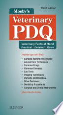 Mosby s Veterinary PDQ   E Book