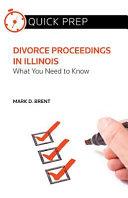Divorce Proceedings In Illinois