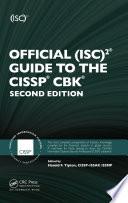 Official Isc 2 Guide To The Cissp Cbk Book PDF