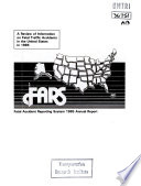 Fatal Accident Reporting System. Annual Report 1985