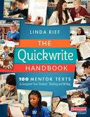 The Quickwrite Handbook
