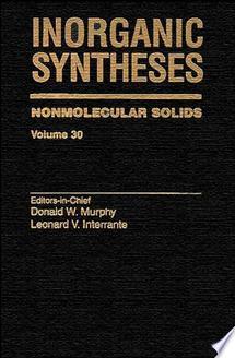 Inorganic Syntheses  Volume 30