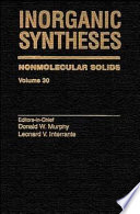 Inorganic Syntheses Book PDF