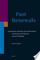 Past Renewals