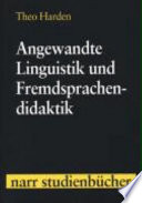 Angewandte Linguistik und Fremdsprachendidaktik