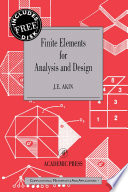 Finite Elements for Analysis and Design Book