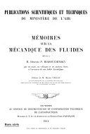 Mémoires sur la mécanique des fluides offerts à M. Dimitri P. Riabouchinsky par ses amis, ses collègues et ses anciens élèves à l'accasion [sic] de son jubilé scientifique