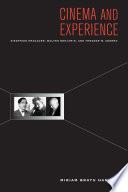 Cinema and Experience