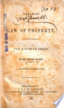 A Treatise of the Law of Property