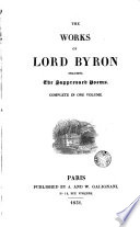 The Works of [Lord] Byron