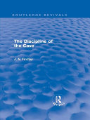 The Discipline of the Cave  Routledge Revivals