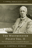 The Westminster Pulpit vol. II Pdf/ePub eBook