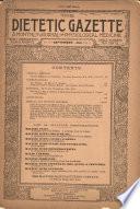 Dietetic and Hygienic Gazette