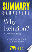 Summary Analysis Of Why Religion Book PDF