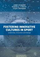 Fostering Innovative Cultures in Sport Pdf/ePub eBook