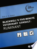 """Blackwell's Five-Minute Veterinary Consult: Ruminant"" by Scott R. R. Haskell"