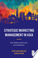 Strategic Marketing Management in Asia Book