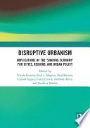 Disruptive Urbanism
