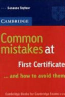 Common Mistakes at First Certificate  Book
