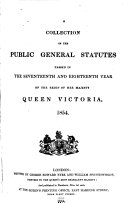 Statutes at Large       37 v   A collection of the public general statutes  1833 1869