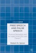 Free Speech and False Speech Pdf/ePub eBook