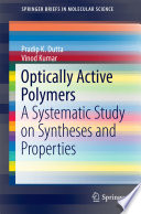 Optically Active Polymers Book PDF