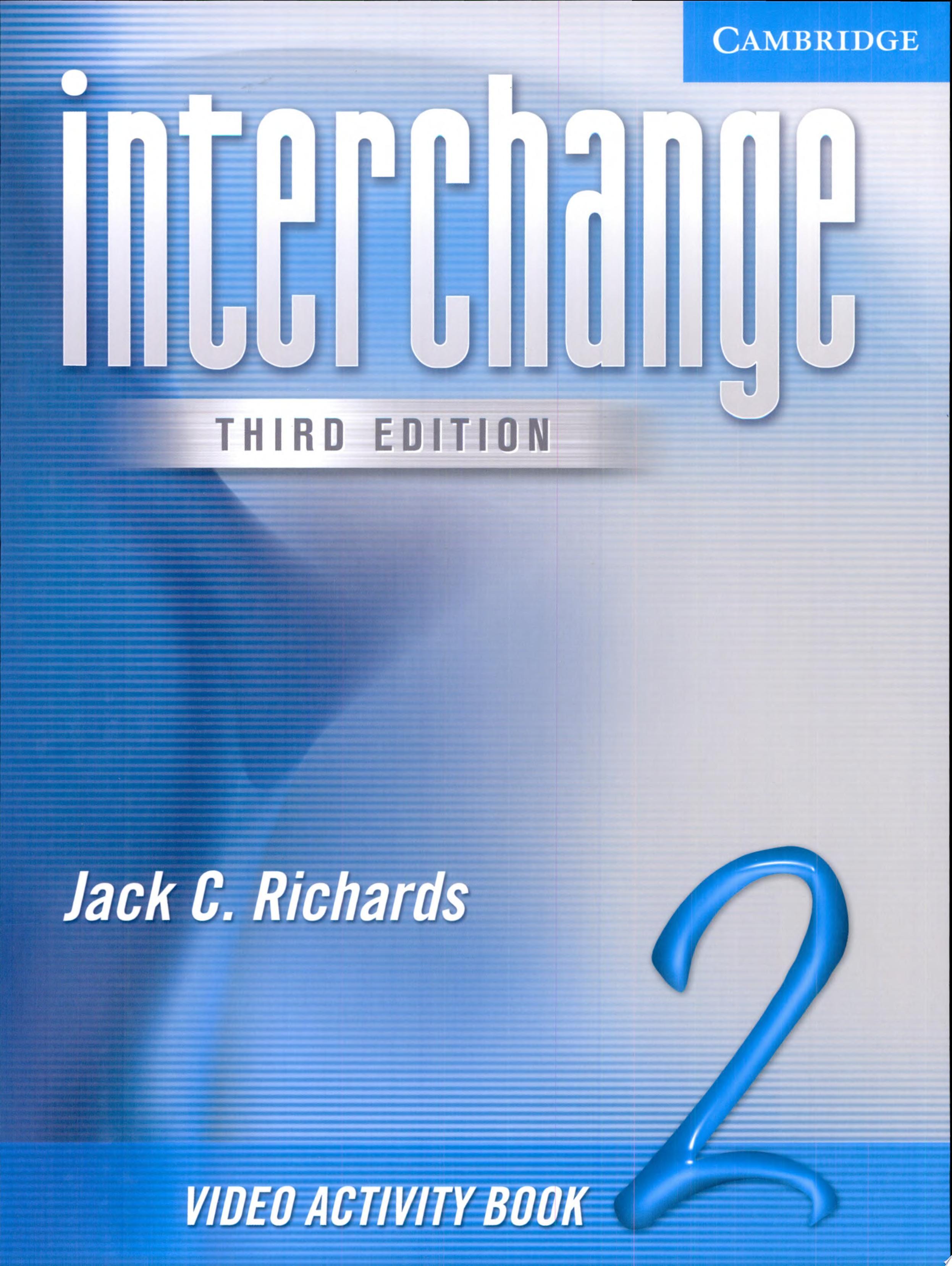 Interchange Video Activity
