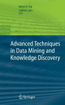 Advanced Techniques in Knowledge Discovery and Data Mining [Pdf/ePub] eBook