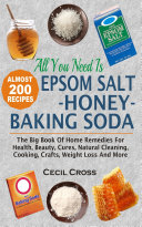 All You Need Is Epsom Salt  Honey And Baking Soda