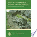 Issues in Environmental Geology