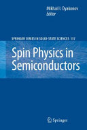 Spin Physics in Semiconductors Pdf/ePub eBook