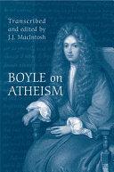 Boyle on Atheism