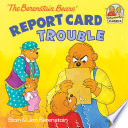The Berenstain Bears' Report Card Trouble banner backdrop