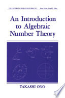 An Introduction to Algebraic Number Theory