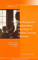 Developing and Implementing Assessment of Student Learning Outcomes