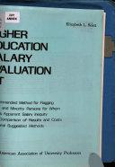 Higher Education Salary Evaluation Kit