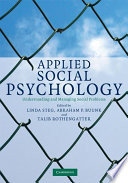 Applied Social Psychology Book PDF