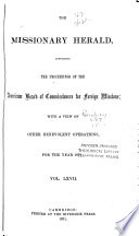 The Missionary Herald Book PDF