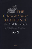 The Hebrew and Aramaic Lexicon of the Old Testament on CD-ROM, the Hebrew and Aramaic Lexicon of the Old Testament on CD-ROM (Windows Version), Individual License (Single User)